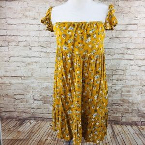 Mossimo sundress M boho off shoulder dress